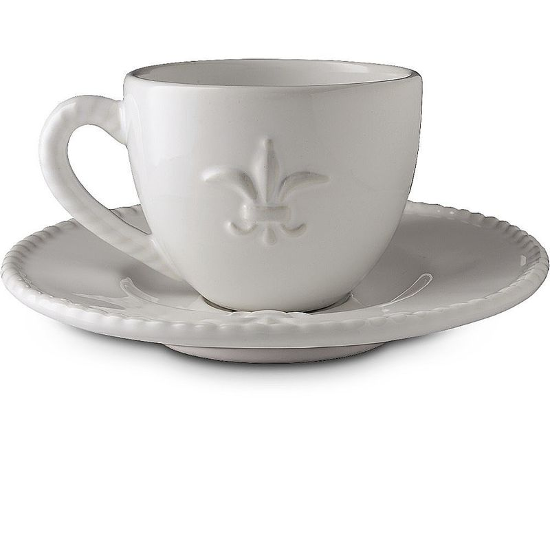 Kaffeetasse mit Untertasse Geschirr Lilie  Hagen Grote Shop