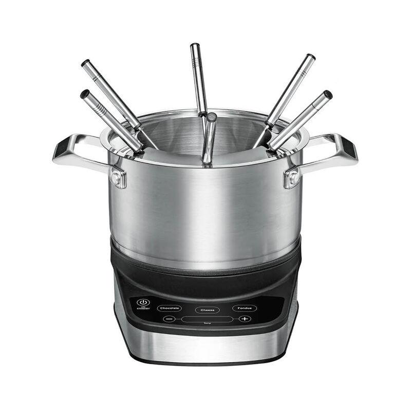 appareil a fondue de precision une temperature exacte pour la viande le bouillon le fromage la fondue au chocolat