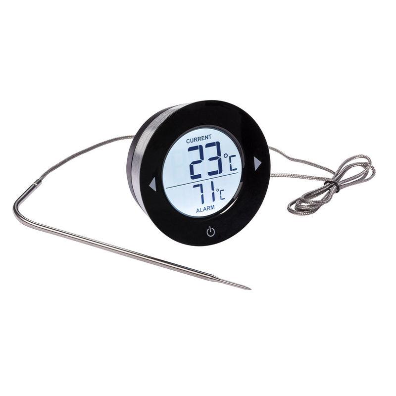 thermometre a viande digital pour bbq et four super precis et extremement resistant a la chaleur