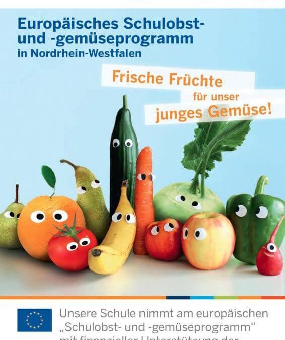 Unsere Schule ist wieder dabei – EU-Schulobstprogramm