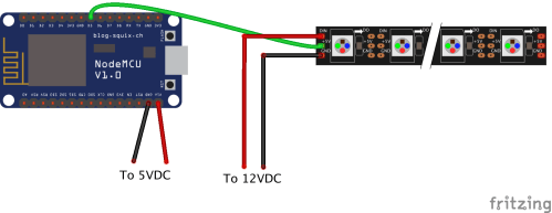 small resolution of the led strip you receive will have 3 wires connected to a plug already soldered on it and you ll receive another plug with a short section of wiring with