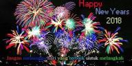 30 kata ucapan selamat tahun baru 2018 terbaru dan penuh makna, happy new year!