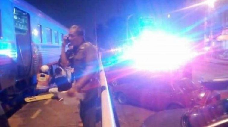 Selfie di rel dalam keadaan mabuk, pasangan kekasih ini terseret kereta