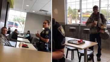 Tak berperikemanusiaan, gelandangan ini diusir dari McDonald's saat makan