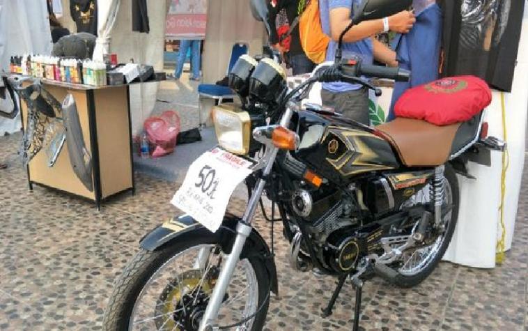 Fantastis, Yamaha Rx King edisi spesial 20 tahun dibanderol harga selangit