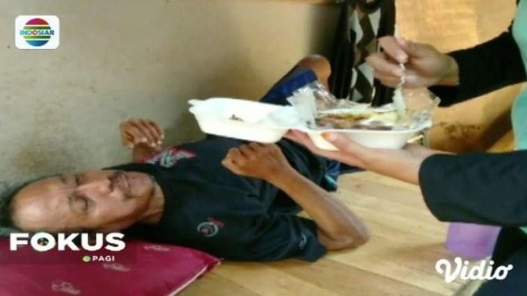 Ini dia sosok Asep, pria yang dibuang keluarga karena menderita storke