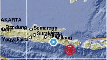 Gempa bumi di Bali berkekuatan 6.0 SR, guncangan terasa hingga Ke Jember