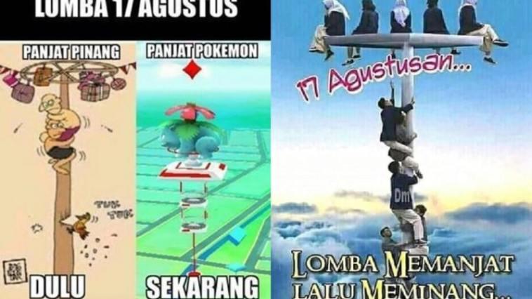 Meme perlombaan 17 Agustus