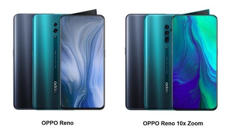 Perbedaan OPPO Reno dan Reno 10x Zoom