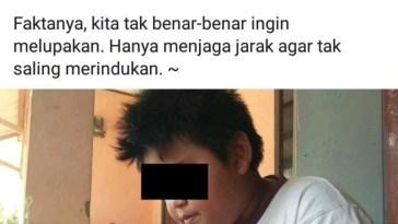 "Sering buat status galau kocak di Facebook, Fahri Skroepp dijuluki dengan bocah ""Sadboy"""