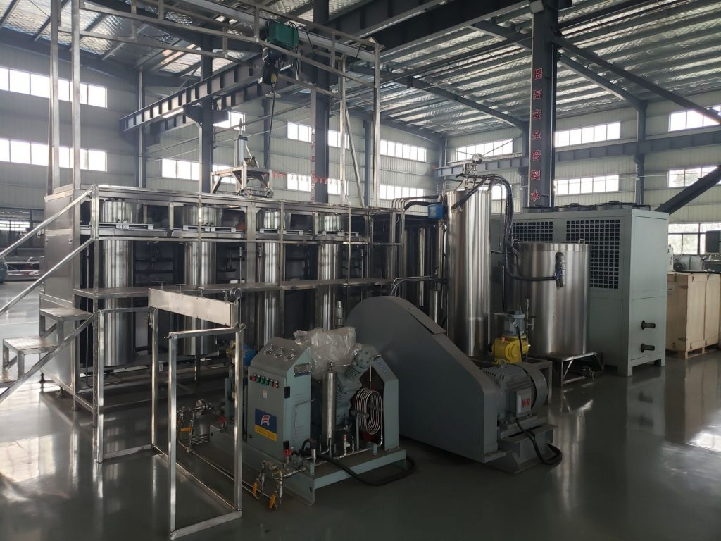 200L (50L×4) supercritical CO2extraction machine