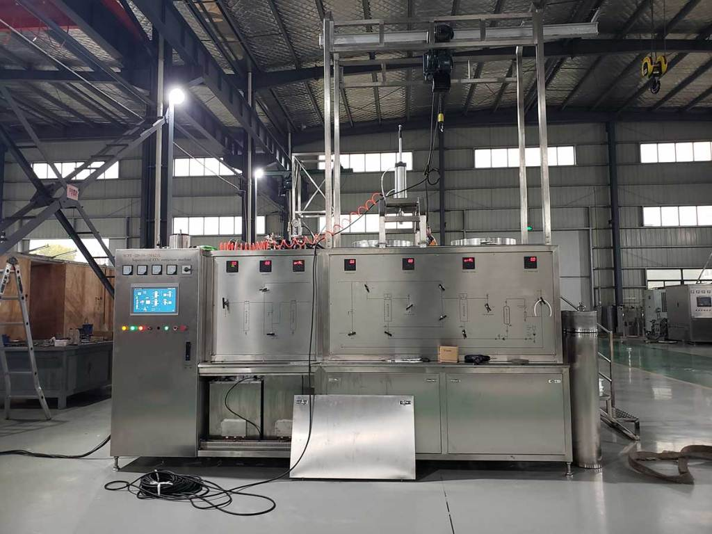 garlic oil supercritical co2 extraction machine