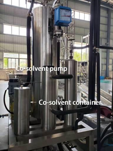 Co-solvent pump