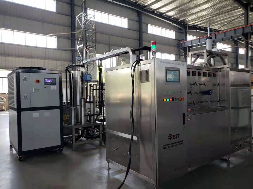 Rose essential oil supercritical CO2 extraction machine