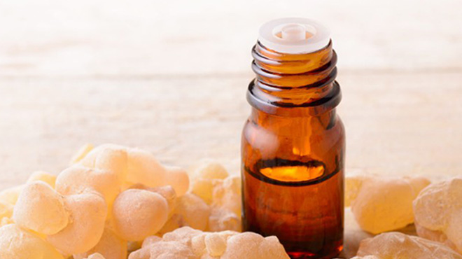 Supercritical CO2 extraction of frankincense essential oil
