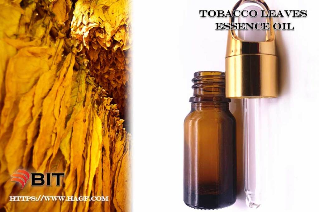 Supercritical CO2 Extraction of Tobacco Leaves Essence Oil