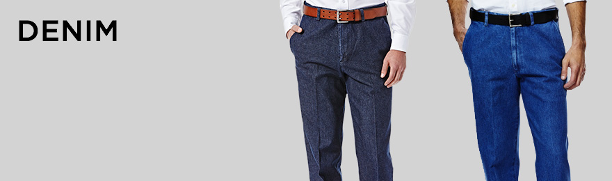 Denim Banner haggar