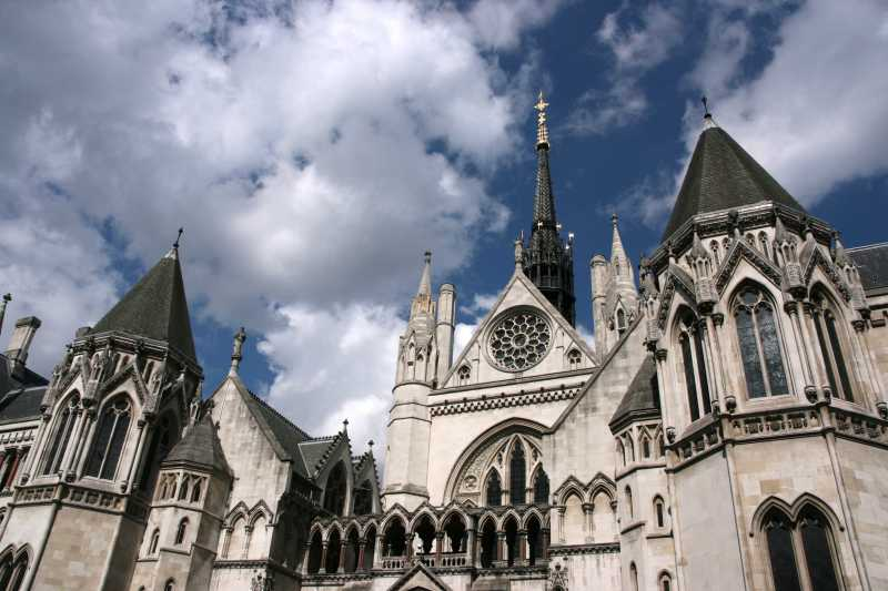 London United Kingdom - Royal Courts of Justice.