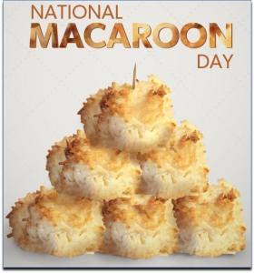 NationalMacaroonDay