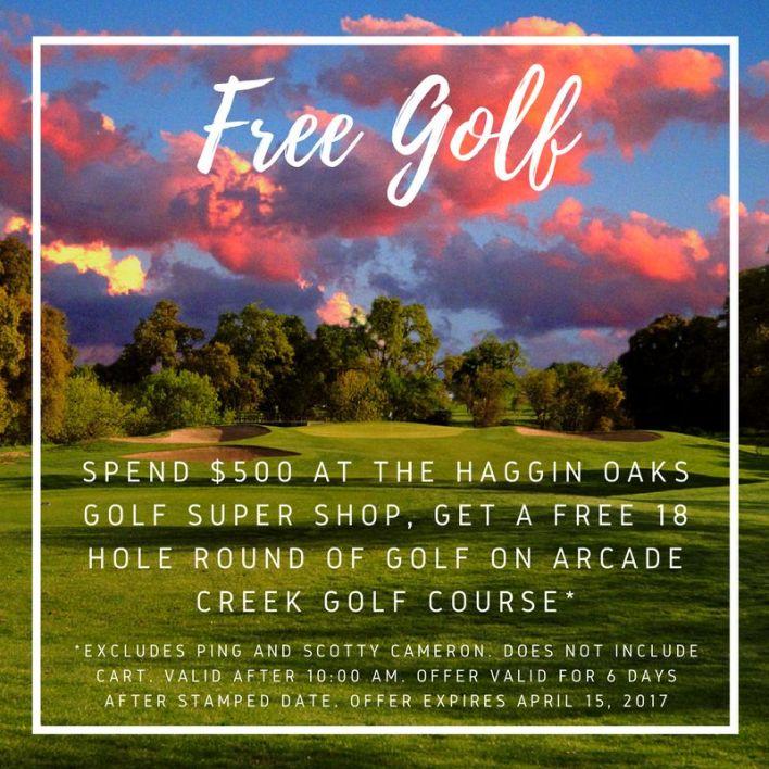 500 free golf