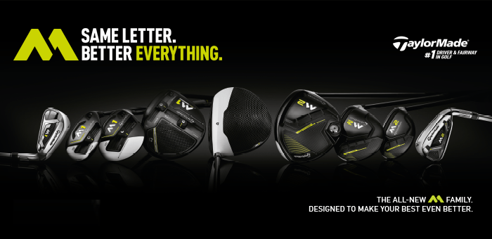TaylorMade M Family Banner
