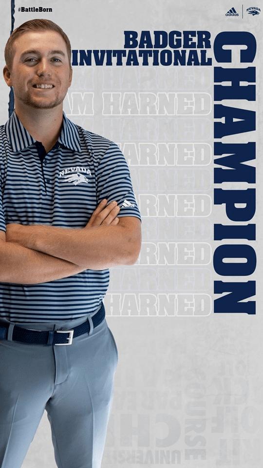Sam Harned - Badger Invitational Champion - University of Nevada, Reno