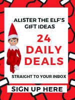 Sign up for Alister the Elf's Daily Deals