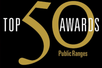 Top 50 Awards - Public Ranges by the GRAA