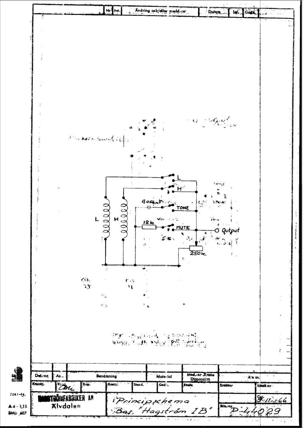 medium resolution of hagstr m schematics hagstrom super swede hagstrom wiring diagram