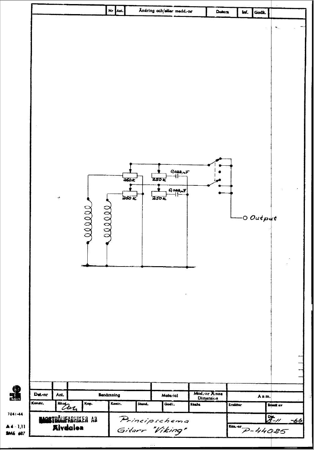 hagstrom swede wiring diagram single phase submersible motor starter explanation schematics viking 1966 era