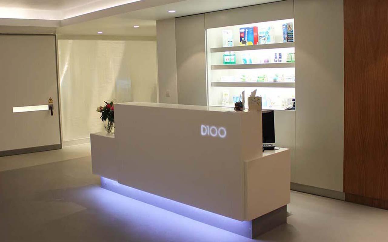 Dental Reception Desks  FREE Design Consultations