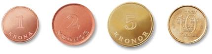 exempelbild på nya myntens utseende