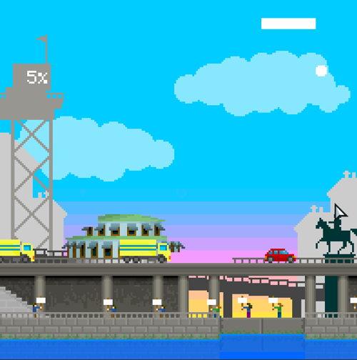 Plattformsspel med 80-talskänsla