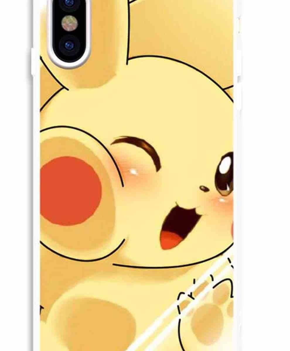 iPhone ケース ポケモン 耐衝撃 タフスマホ ソフト ケース ピカチュウ