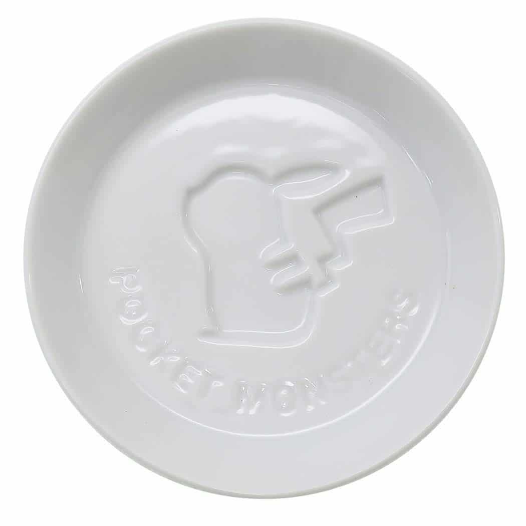 ポケモン[小皿]絵柄が浮き出る 醤油皿/ピカチュウシルエット ポケットモンスター
