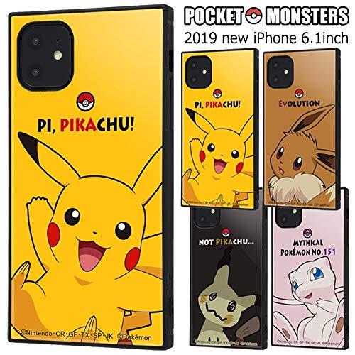 iPhone11 ポケットモンスター 耐衝撃 スクエア ケース