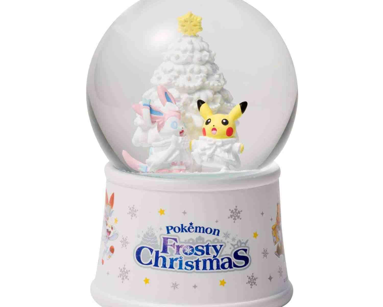 ポケモンセンターオリジナル スノーグローブ Pokémon Frosty Christmas
