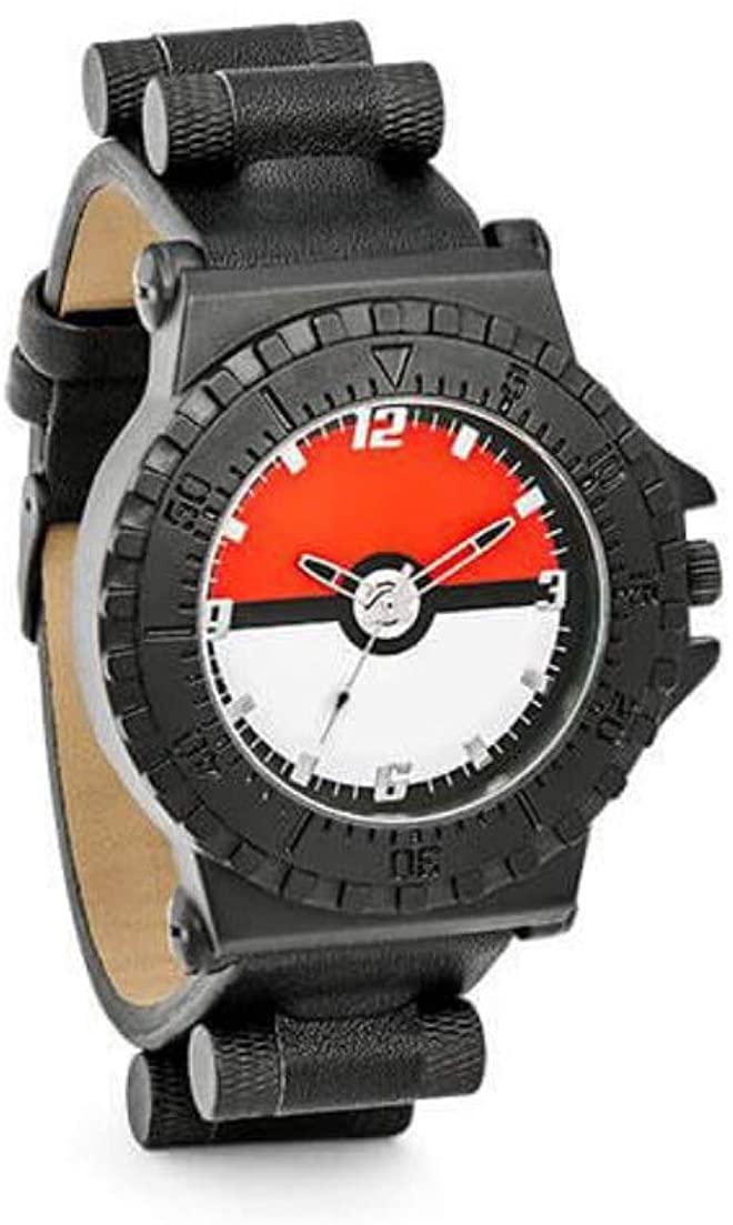 【公式ライセンス品】Pokemon(ポケモン)アナログ 腕時計 ブラック シリコンバンド [並行輸入品]