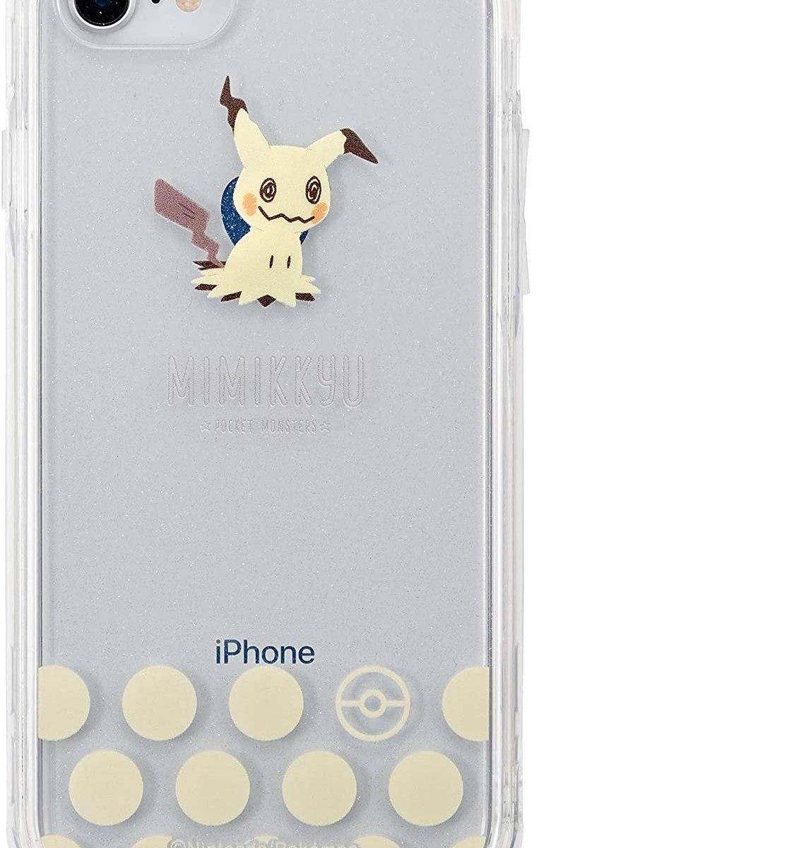 iDress iPhone SE 第2世代 iPhone 8/7/6s/6対応 ポケットモンスター ポケモン IJOY ミミッキュ クリア i33DPM09