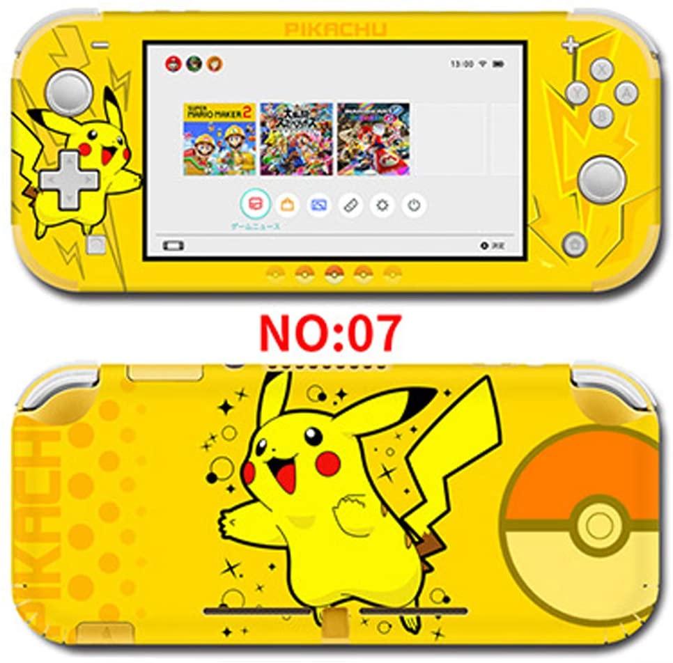 Nintendo Switch lite対応 ポケットモンスター風 任天堂スキンシール