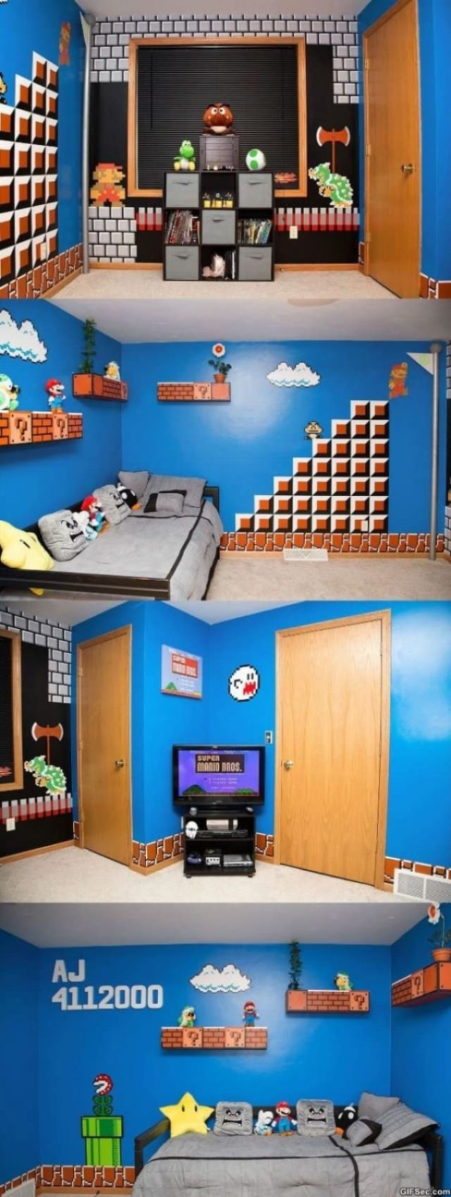It's never too geeky to be a hardcore of fan of super mario