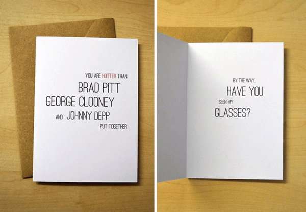 have you seen my glasses funny greeting card
