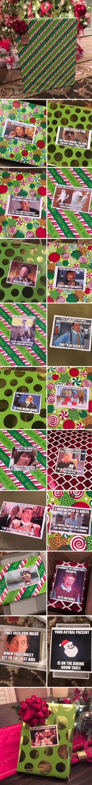 funny Christmas gift ideas