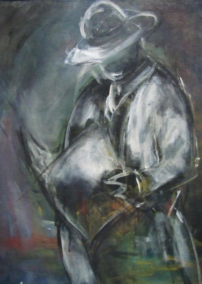 man_acrylic_painting