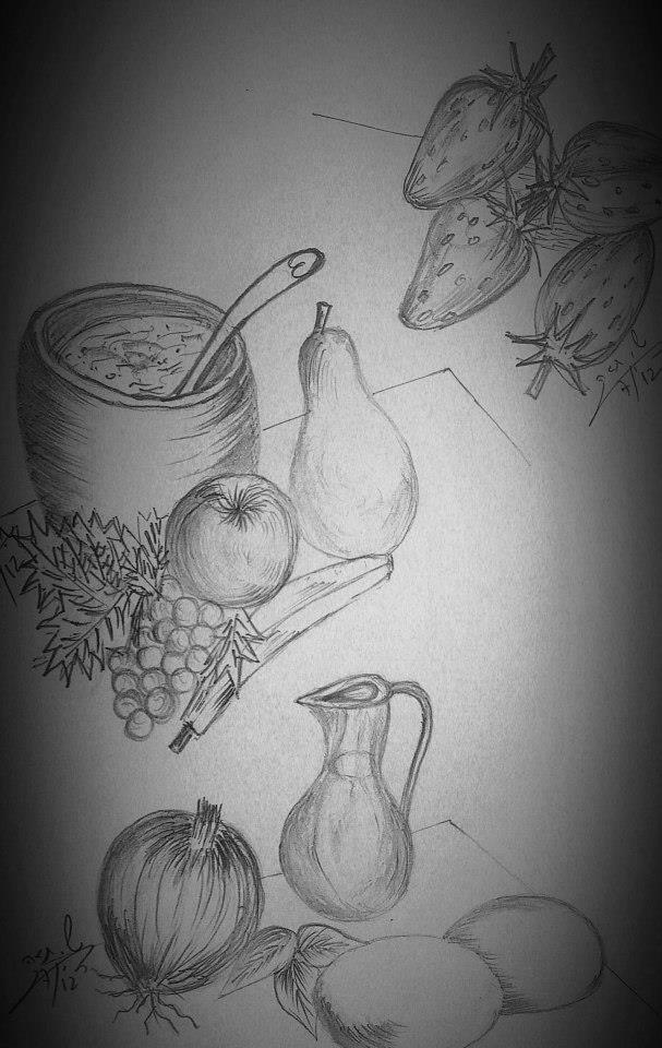 still_life_drawing_fruits