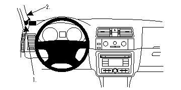 Brodit ProClip GPS, PDA und Handy Auto-Halterung für Skoda