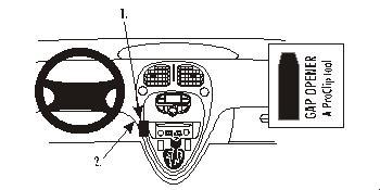 ProClip-Halterung für Citroen Xsara Picasso 00-08