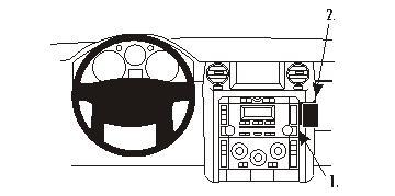 ProClip-Halterung für Land Rover Discovery 3 05-07