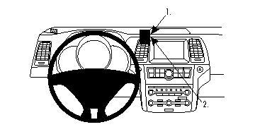 Brodit ProClip GPS, PDA und Handy Auto-Halterung für