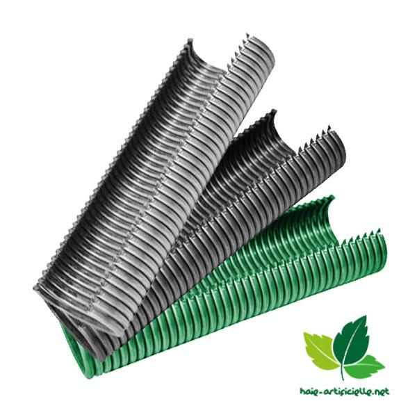 agrafes de fixation modele 16 20 pour canisse cloture haie artificielle france green